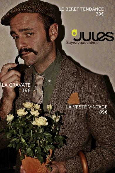 Séverin Foucourt, la troupe amochée, magasin Jules.