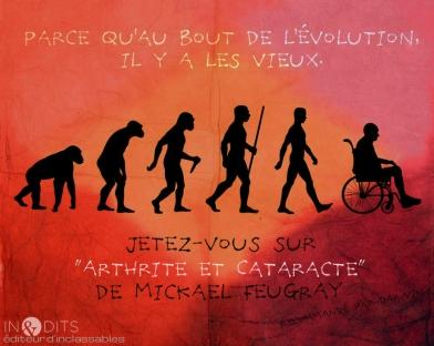 Mickael Feugray, Arthrite et Cataracte, éditions inédits.