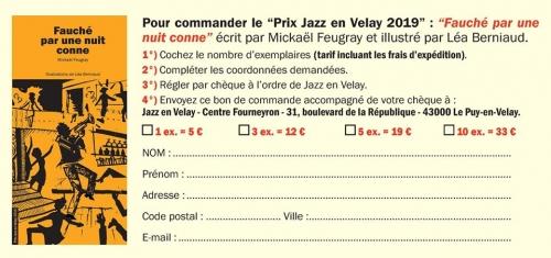 Mickael Feugray, fauché par une nuit conne, jazz en velay 2019, bon de commande, nouvelle, polar.