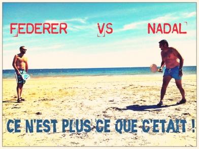 Federer vs Nadal 2018
