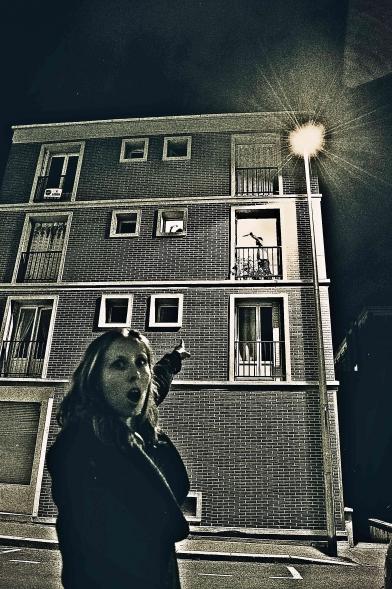 Mickael Feugray, Aline Lemercier, Séverin Foucourt, Yvonne Gomès, la troupe amochée, crime et bâtiment