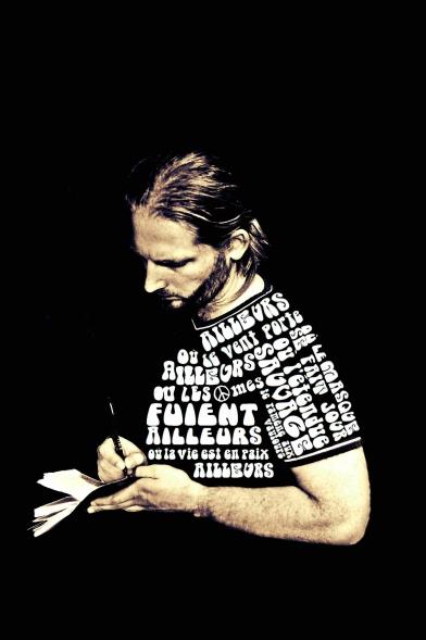 Mickael Feugray, Ailleurs, chanson, écrivain, auteur, chanteur, parolier, Le Havre