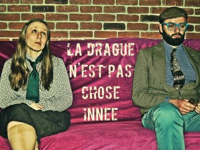 La troupe amochée, les ringards, Séverin Foucourt, Aline Lemercier.