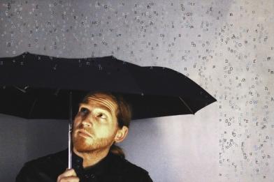 mickael feugray, parapluie, lettres, le Havre