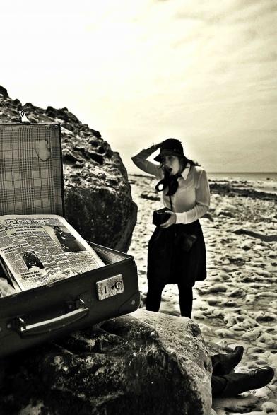 Mickael Feugray, 2015, Aline Lemercier, festival les ancres noires, polar à la plage, suicide sur les galets