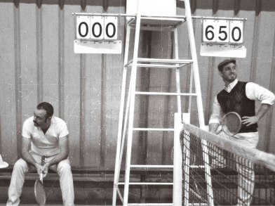 Séverin Foucourt, Mickaël Feugray, la troupe amochée, GMT, tennis, Montivilliers.